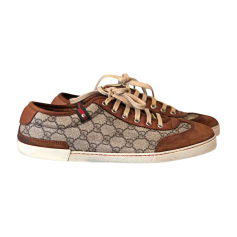 Sneakers GUCCI Beige, camel