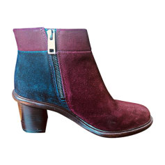 High Heel Ankle Boots PAUL SMITH Red, burgundy