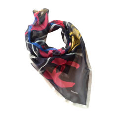 Silk Scarf CHANEL Multicolor