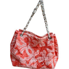 Non-Leather Oversize Bag CHANEL Shopping CORAIL