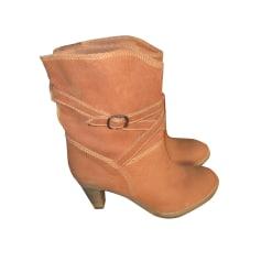 High Heel Ankle Boots COMPTOIR DES COTONNIERS canelle