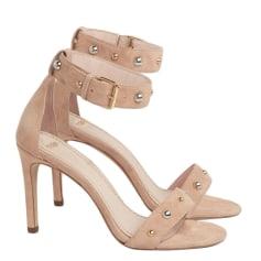 Heeled Sandals MAJE Pink, fuchsia, light pink