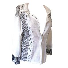 Vest, Cardigan SAVE THE QUEEN White, off-white, ecru