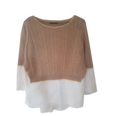 Sweater TARA JARMON Beige, camel