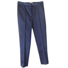 Tapered Pants SANDRO Blue, navy, turquoise