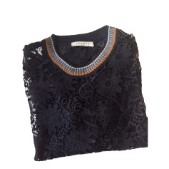 Top, t-shirt SANDRO Nero