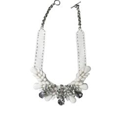 Necklace PINKO White, off-white, ecru