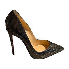 Escarpins CHRISTIAN LOUBOUTIN So Kate Gris, anthracite