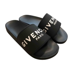 Flat Sandals GIVENCHY Black