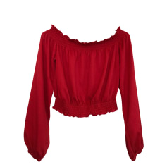 Top, T-shirt THE KOOPLES Red, burgundy