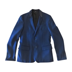 Suit Jacket BURBERRY Blue, navy, turquoise