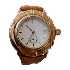 Orologio da polso YVES SAINT LAURENT Dorato, bronzo, rame