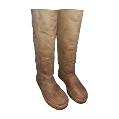 Snow Boots STELLA MCCARTNEY Beige, camel