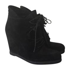 Wedge Ankle Boots STUART WEITZMAN Black