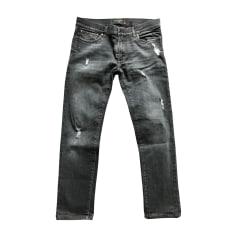 Jeans slim DOLCE & GABBANA Noir