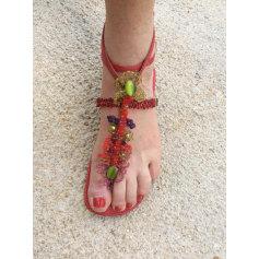 Sandales plates Bijou de Pied