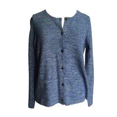 Vest, Cardigan COMPTOIR DES COTONNIERS Blue, navy, turquoise