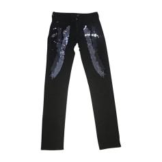 Straight Leg Pants JUST CAVALLI Black
