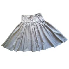 Midi Skirt ARMAND VENTILO Silver