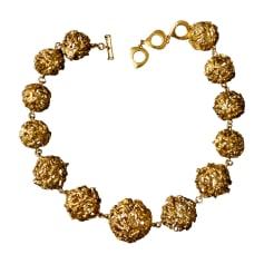 Collier YVES SAINT LAURENT Gold, Bronze, Kupfer
