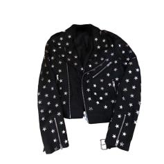 Leather Jacket MAJE Black