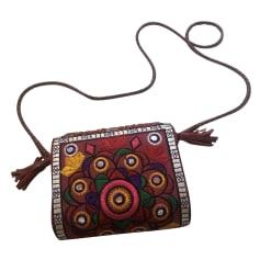 Non-Leather Shoulder Bag ANTIK BATIK Red, burgundy