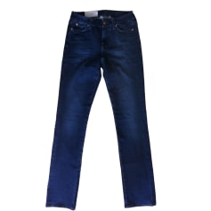 Skinny Jeans 7 FOR ALL MANKIND Blue, navy, turquoise