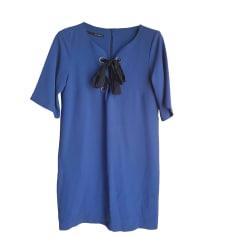 Robe courte ANNARITA N Bleu, bleu marine, bleu turquoise
