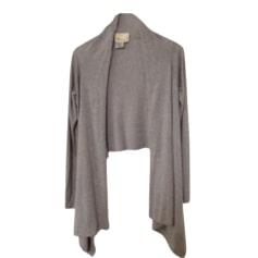 Vest, Cardigan LES PETITES... Gray, charcoal
