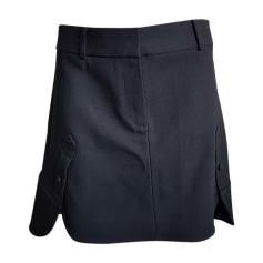 Mini Skirt ALEXANDER WANG Black