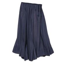 Maxi Skirt ANTIK BATIK Blue, navy, turquoise