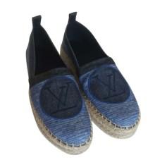 Espadrilles, Slipper LOUIS VUITTON Blau, marineblau, türkisblau