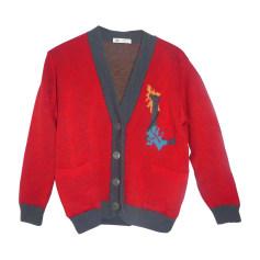 Vest, Cardigan LANVIN Red, burgundy