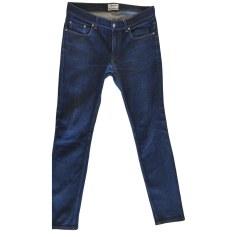 Skinny Jeans ACNE Blau, marineblau, türkisblau