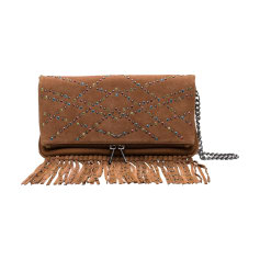 Leather Clutch ZADIG & VOLTAIRE Beige, camel