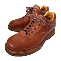 Lace Up Shoes SANTONI Brown