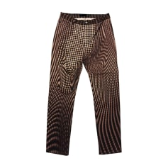Pantalon slim JUST CAVALLI Marron