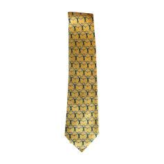 Tie HERMÈS Yellow