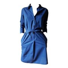 Robe courte A.P.C. Bleu, bleu marine, bleu turquoise