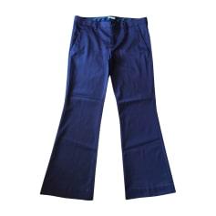Pantalon évasé MIU MIU PRUNE