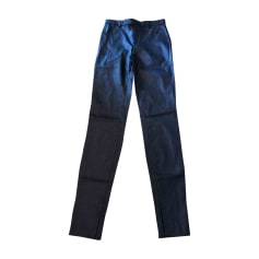 Pantalon slim, cigarette GUCCI Noir