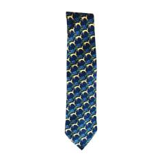 Krawatte LANVIN Blau, marineblau, türkisblau