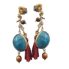 Earrings GAS BIJOUX Blue, navy, turquoise
