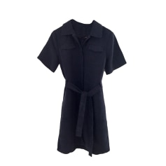 Robe mi-longue COMPTOIR DES COTONNIERS Bleu, bleu marine, bleu turquoise