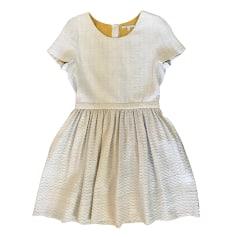 Mini Dress MAJE White, off-white, ecru