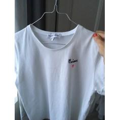 Top, tee-shirt BALZAC PARIS Blanc, blanc cassé, écru