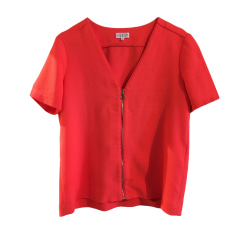 Top, tee-shirt SANDRO Rose, fuschia, vieux rose