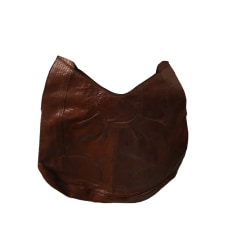 Sac XL en cuir ANTIK BATIK Marron