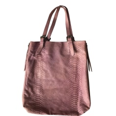 Leather Handbag GERARD DAREL Purple, mauve, lavender