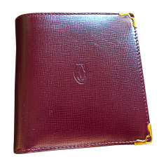 Card Case CARTIER Red, burgundy